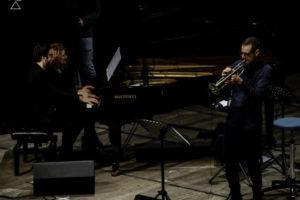 Con Julian Oliver Mazzariello e Fabrizio Bosso