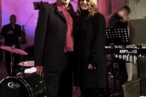Con Sergio Meogrossi