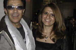Con Edoardo Bennato