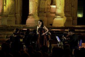 Izmir Festival - Biblioteca di Celso - Turchia- con Paola Santucci e Consonus Quartet