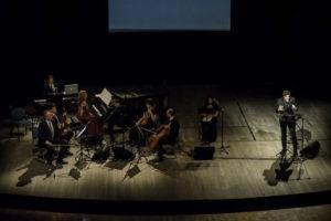 Con Lino Guanciale, Giulia De Blasis, Consonus Quartet, Emiliano Bucci